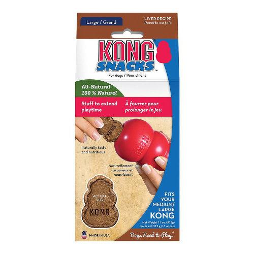 Kong Stuff'N Liver Snacks Dog Treats - Large