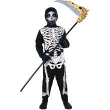Medium Childrens Skeleton Costume