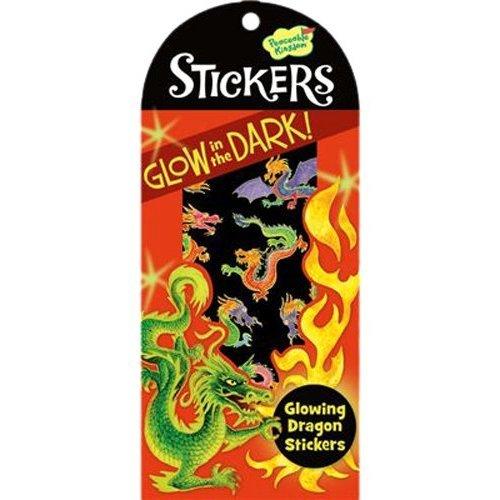 Glowing Dragon Stickers