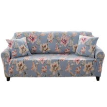 Double Sofa Cover Modern Elastic Sofa Couch Throws Slipcovers Non-slip Dustproof Sofa Cover-A17