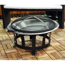 Outdoor Garden Patio Fire Pit Bowl Wood Charcoal Outfire Burner Heater Firepit
