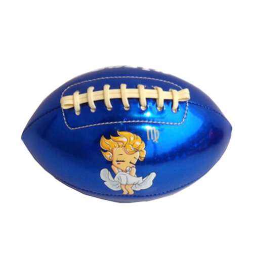 [BLUE Virgo] Cute Constellation/Zodiac Kids/Toddles Mini Football, Size 2
