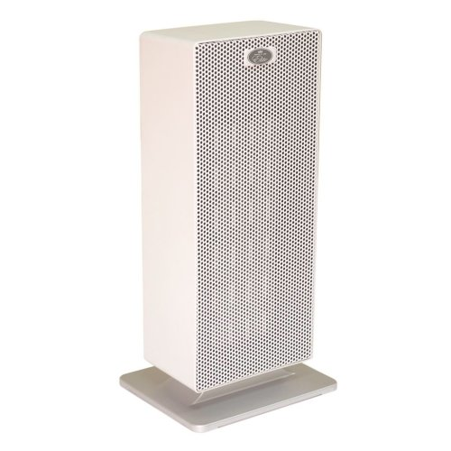Prem-I-Air Elite 2kW Floor Standing PTC Twin Fan Heater With 2 Heat Settings and Whisper Quiet Operation