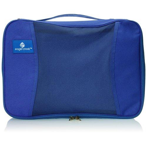 Eagle Creek Pack-It Half Cube Blue Sea- clothing storage bags (Soft bag, Blue, Fabric, Zipper), EC041196137, 5 L (25.5 cm)