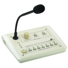 PA Desk Microphone - Pa Zone Paging Desktop Microphone