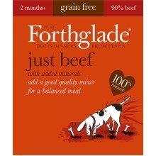 FORTHGLADE NATURAL MENU BEEF 18 x 395 gram trays GRAIN FREE