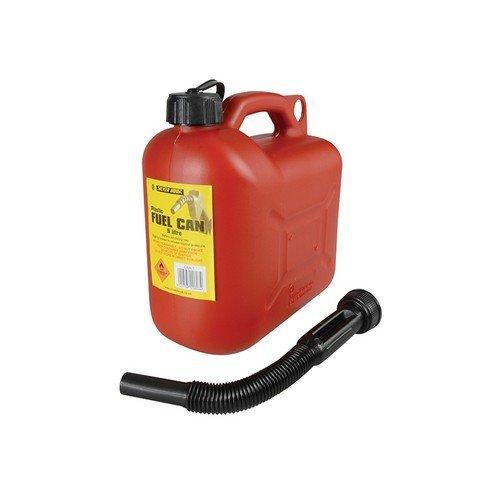Silverhook CAN1 Leaded Petrol Can & Spout Red 5 Litre