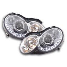 Daylight headlight Mercedes CLK W209 Year 04-09 chrome