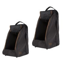 Aigle Dark Brown boot bag - wellington boot or shoe carrier - waterproof bag