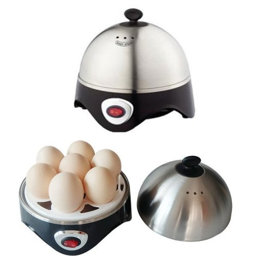 Vivo Stainless Steel Electric 7 Egg Boiler