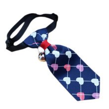 England Style Pet Collar Tie Adjustable Bowknot Cat Dog Collars with Bell-B09