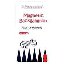 Magnetic Travel Backgammon Game - Car Games , Airplane Games and Quiet Games