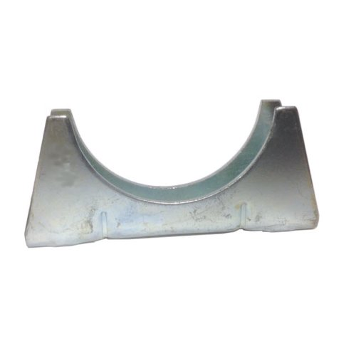 Universal Exhaust pipe cradle 60 mm pipe - Zinc Plated Mild Steel