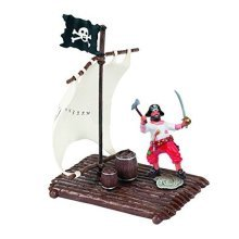 "Papo 60253 Figures Accessories ""the Raft"" - Raft Pirates New Best Price -  papo raft pirates new 60253 figures accessories best price"