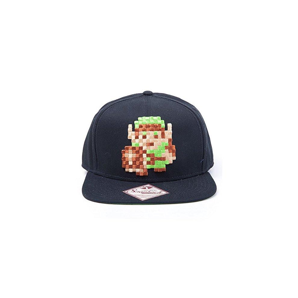 NINTENDO Unisex Link 8bit Zelda Snapback Baseball Cap 4c383861cf5c