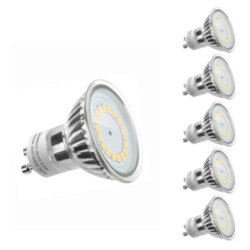 LE MR16 GU10 LED Bulbs, 50W Halogen Bulbs Equivalent, 3.5W