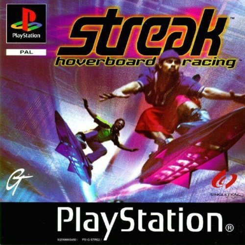 GT Interactive - Streak Hoverboard Racing PlayStation PS1 Game