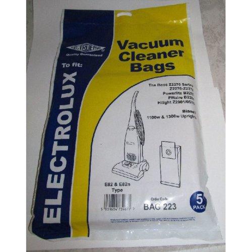 Electruepart BAG 223 5 pack of Bags to fit Boss, Powerlite Etc Vacuums