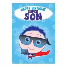 Birthday Card - Super Son