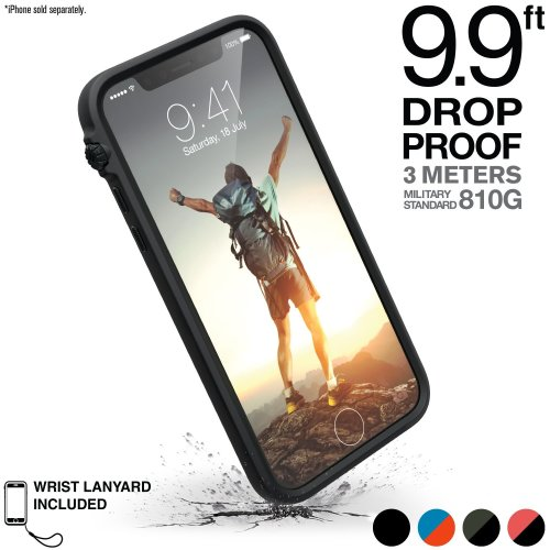 promo code b5c53 242dc Catalyst iPhone 8 Case + Lanyard - Rugged Heavy-Duty Impact protection  cover for Apple phone [iPhone 7 great fit, Military Shockproof, Clear  back,...