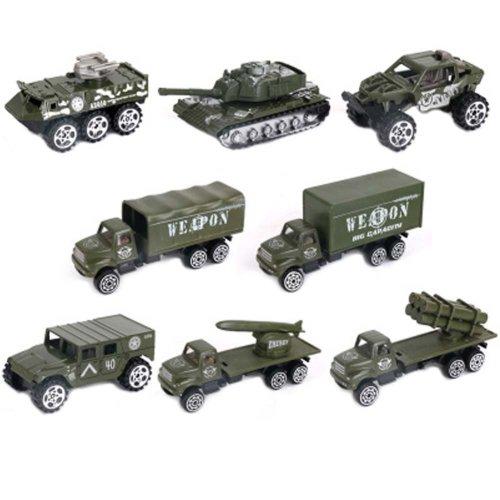 Soldier Scene Models Little Soldier Car Models Children's Toy Accessories #6