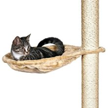 Trixie Nest For Scratching Post, 45 Cm, Beige - Cat Post Hammock Bed Bag New -  trixie cat scratching post hammock bed nest bag new platform lots