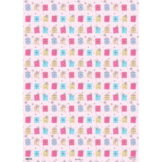 Simon Elvin Presents And Flowers Gift Wraps (24 Sheets)