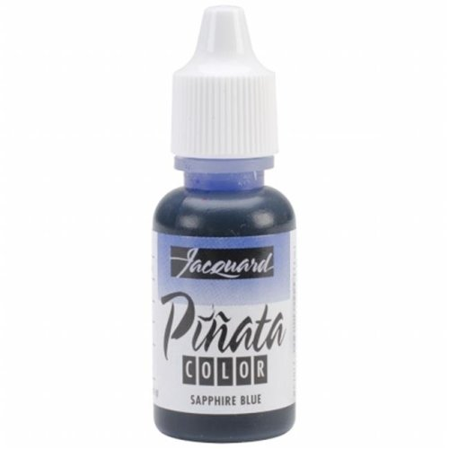 Jacquard Products JFC-1017 Jacquard Pinata Color Alcohol Inks .5oz-Sapphire Blue