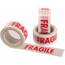 Printed Fragile Tape 50mm x 66m
