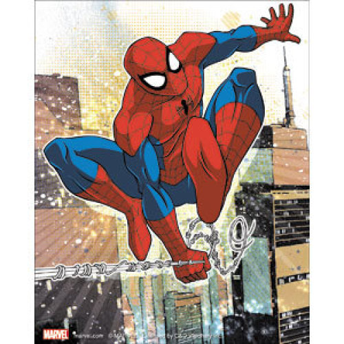Sticker - Marvel - Spiderman - Spidey with Web New Toys s-mvl-0059