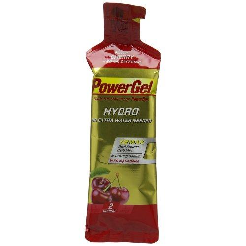 PowerBar PowerGel Hydro Energy Gel - Cherry with Caffeine  24x67ml