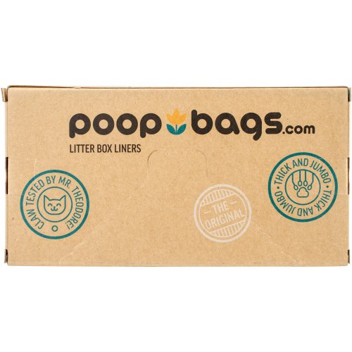 Poop Bags Cat Pan Liners 10ct-