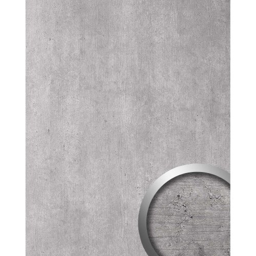 WallFace 19091 CEMENT LIGHT adhesive wall panel concrete look grey 2.6 sqm