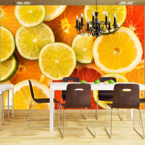 Wallpaper - Citrus fruits