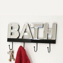 Mirrored Bath Hooks