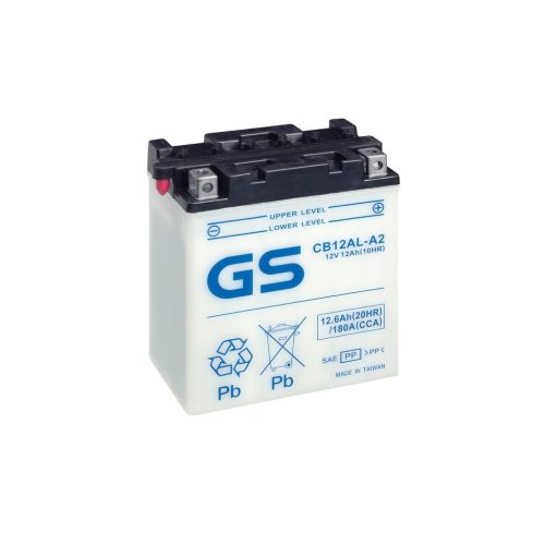 Motorcycle CB Series Battery 12V - 12Ah - 180CCA