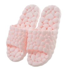 Womens Cozy Indoor House Hollow Slipper Bathroom Non-slip Slippers, Pink