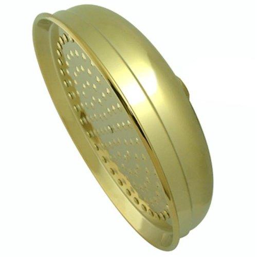 Kingston Brass K125A2 10 Inch Diameter Brass Rain Drop Shower Head - Polished Brass