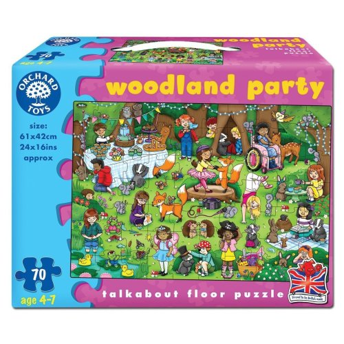 Orchard Toys Woodland Party Jigsaw Puzzle (Multi-Colour)