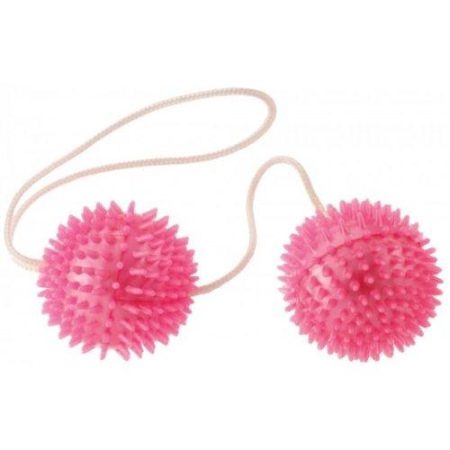 Kegel Balls Pelvic Floor Toning Jiggle Balls in Pink