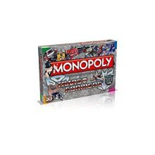 Transformers Retro Monopoly Family Board Game Brand New Sealed