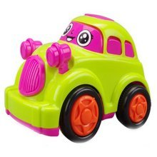 Cute Cartoon Car Wind-up Toy for Baby/Toddler/Kids (Color Random)