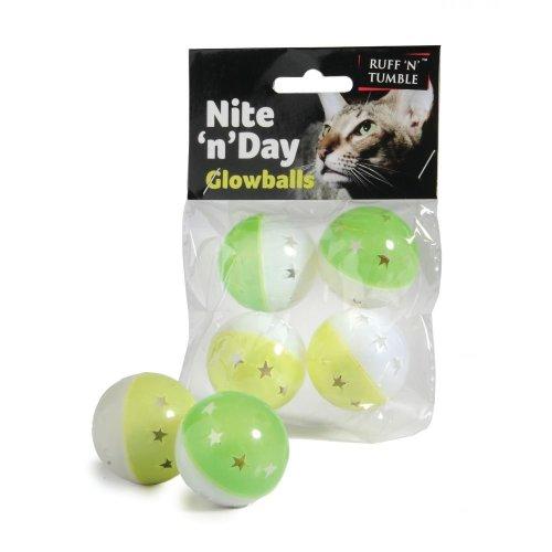 Ruff 'n' Tumble Nite 'n' Day Glowballs (4pcs)