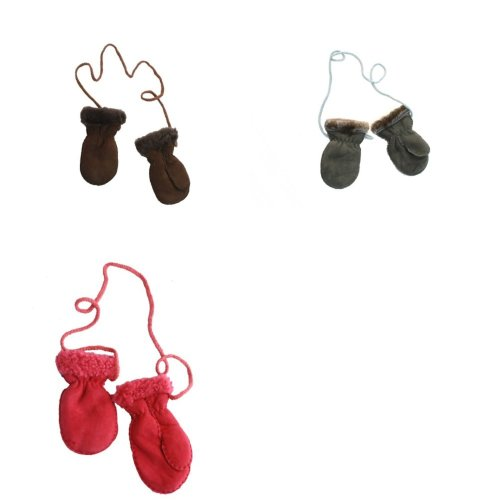 Eastern Counties Leather Baby Sheepskin Mittens With Thumbs