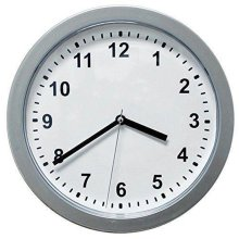 Wall Home Office Clock Decor with Hidden Safe Hides Valuables Jewelry