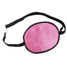 Adult Kids Amblyopia Strabismus Lazy Eye Adjustable Soft Pirate Eye Patch Single Eye Mask (Adult) ,c