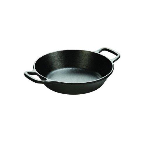 8 in. Round Cast Iron Pan, Black