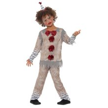 Kids Vintage Clown Boy IT Pennywise Costume | Halloween