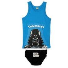 Star Wars Vader Pants & Vest - Blue