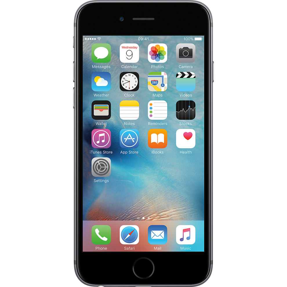 Vodafone, 16GB Apple iPhone 6s Space Grey